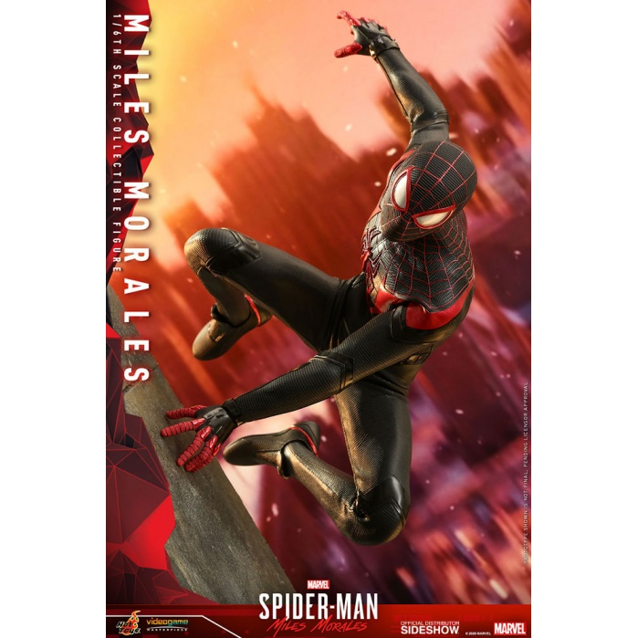 Marvel: Spider-Man Miles Morales Game - Miles Morales 1:6 Scale Figure Hot Toys Product