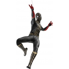 Marvel: Spider-Man No Way Home - Spider-Man Black and Gold Suit 1:6 Scale Figure - Hot Toys (EU)