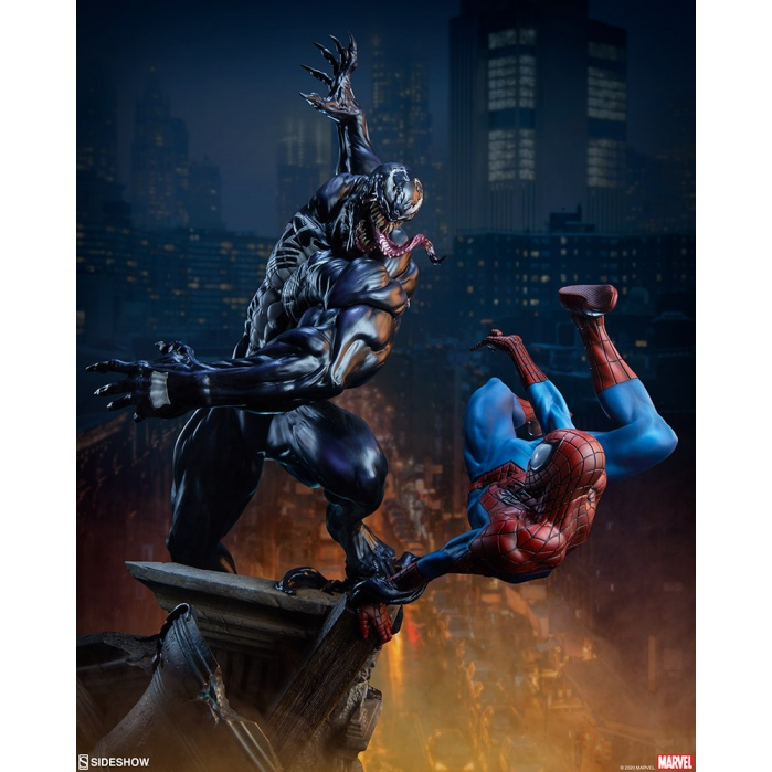 Marvel: Spider-Man vs Venom Maquette Sideshow Collectibles Product