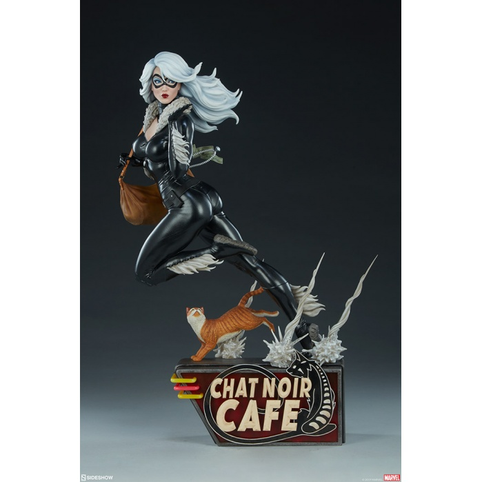 Marvel: Spider-Verse - Black Cat 1:5 Scale Statue Sideshow Collectibles Product