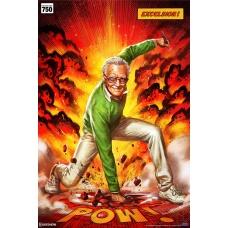 Marvel: Stan Lee Excelsior Unframed Art Print - Sideshow Collectibles (EU)