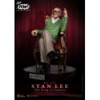 Marvel: Stan Lee - Master Craft The King of Cameos Statue Beast Kingdom Product
