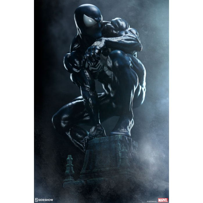 Marvel: Symbiote Spider-Man Premium Statue Sideshow Collectibles Product