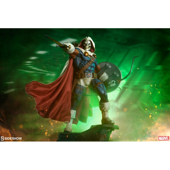 Marvel: Taskmaster Premium 1:4 Scale Statue Sideshow Collectibles Product