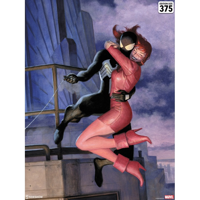 Marvel: The Amazing Spider-Man - One Moment in Time Unframed Art Print Sideshow Collectibles Product
