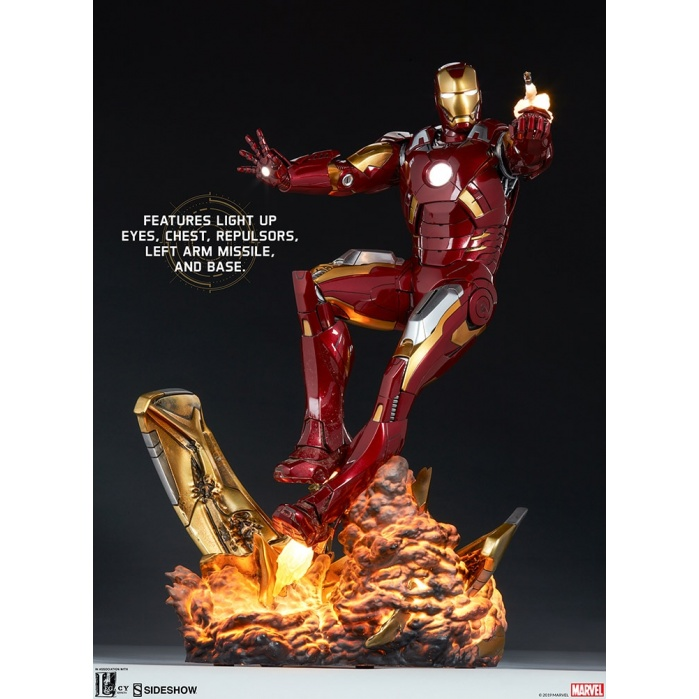 Marvel: The Avengers - Iron Man Mark VII Maquette Sideshow Collectibles Product