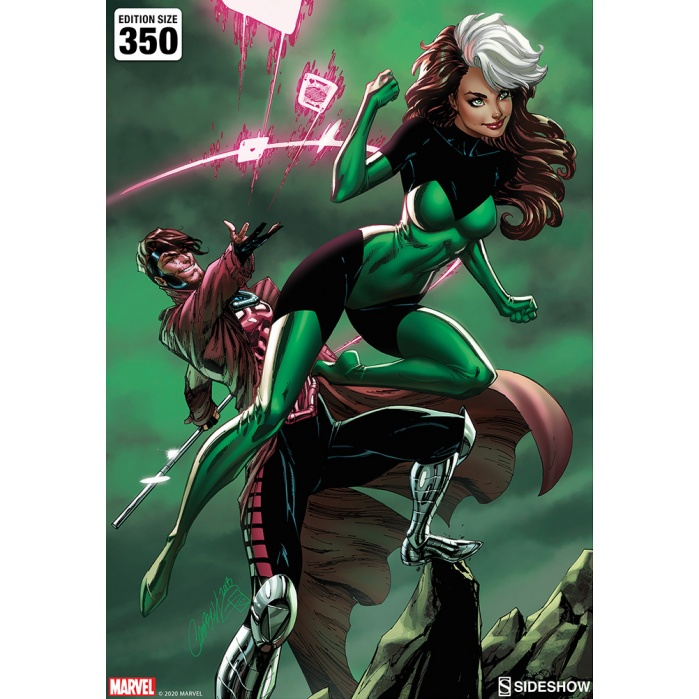 Marvel: Uncanny X-Men - Rogue and Gambit Unframed Art Print Sideshow Collectibles Product