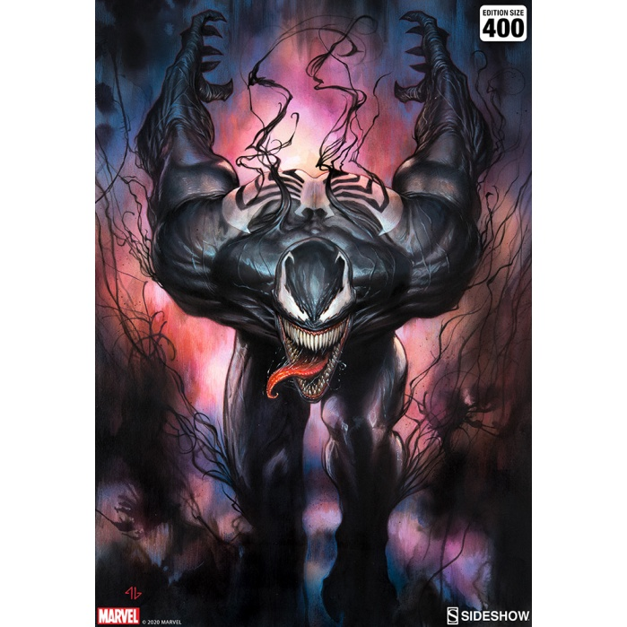 Marvel: Venom Unframed Art Print Sideshow Collectibles Product