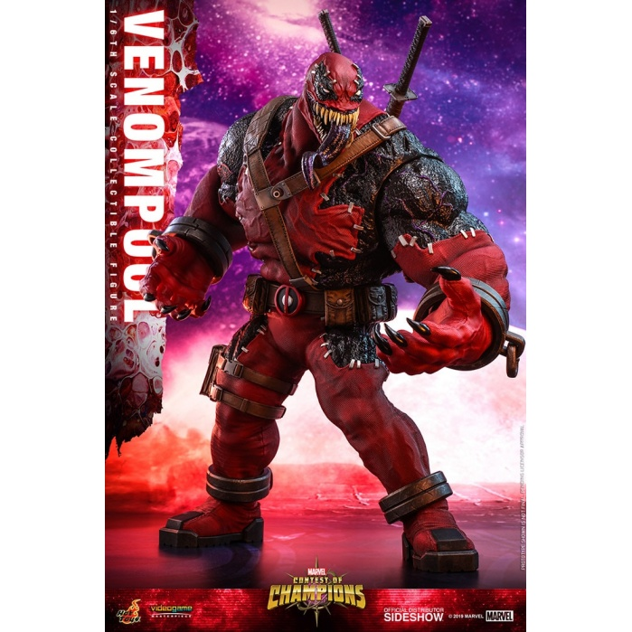 Marvel: Venompool 1:6 Scale Figure Hot Toys Product