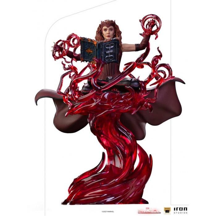 Marvel: WandaVision - Scralet Witch Deluxe 1:10 Scale Statue Iron Studios Product