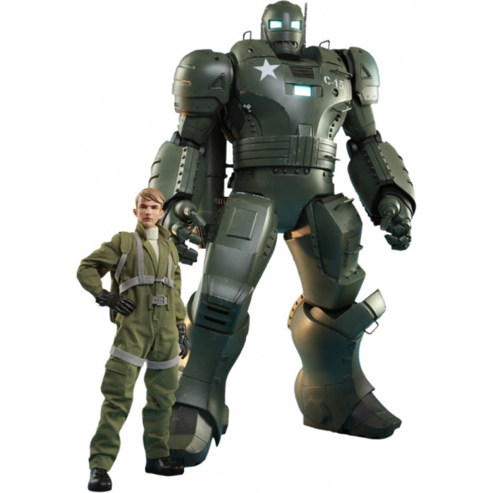 Marvel: What if - Steve Rogers and the Hydra Stomper 1:6 Scale Figure Set Hot Toys Product
