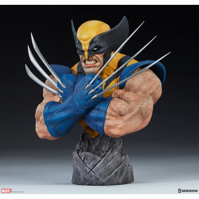 Marvel: Wolverine 9 inch Bust Sideshow Collectibles Product