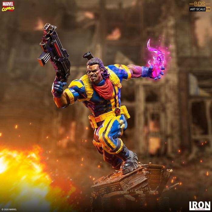 Marvel: X-Men - Bishop 1:10 Scale Statue Iron Studios Product