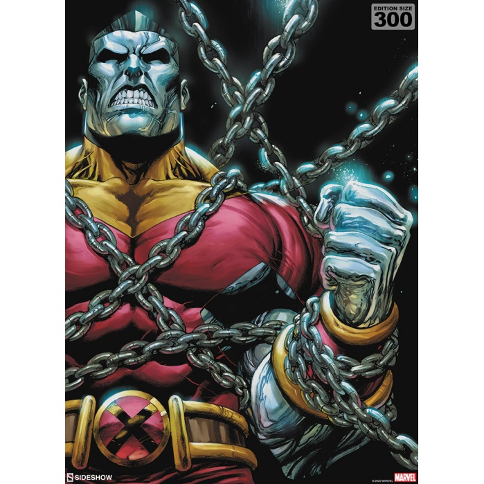 Marvel: X-Men - Colossus Unframed Art Print Sideshow Collectibles Product