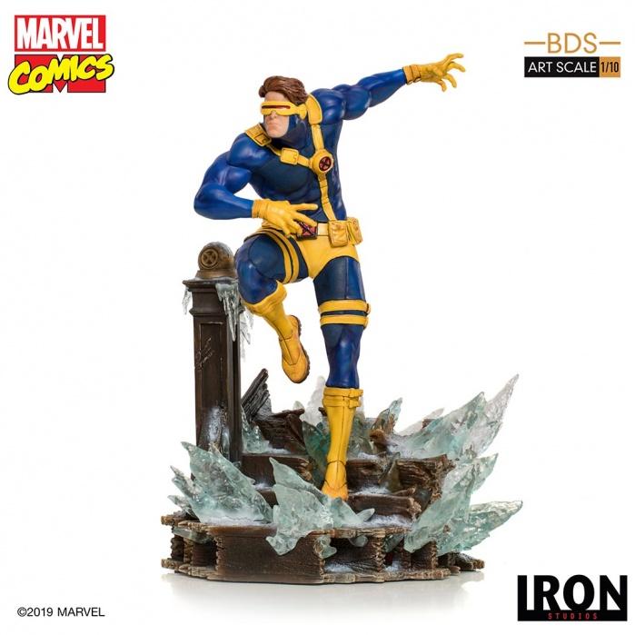 Marvel: X-Men - Cyclops 1:10 Scale Statue Iron Studios Product