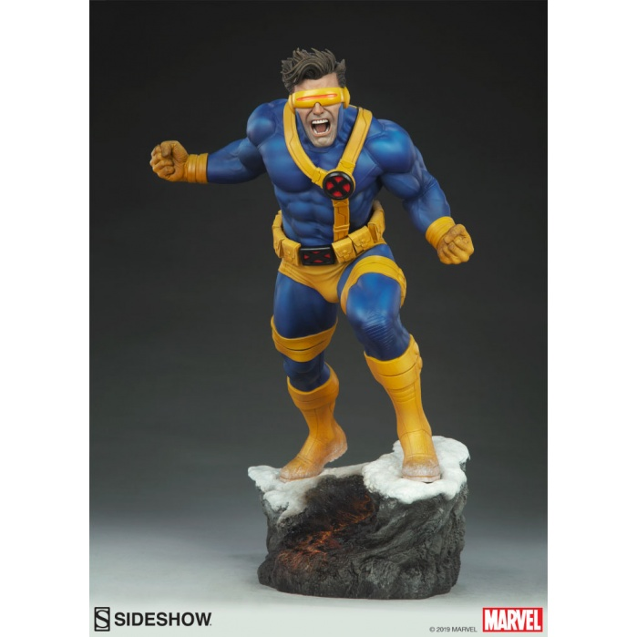 Marvel: X-Men - Cyclops Premium Statue Sideshow Collectibles Product