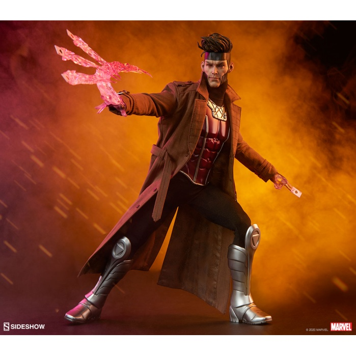 Marvel: X-Men - Gambit 1:6 Scale Figure Sideshow Collectibles Product