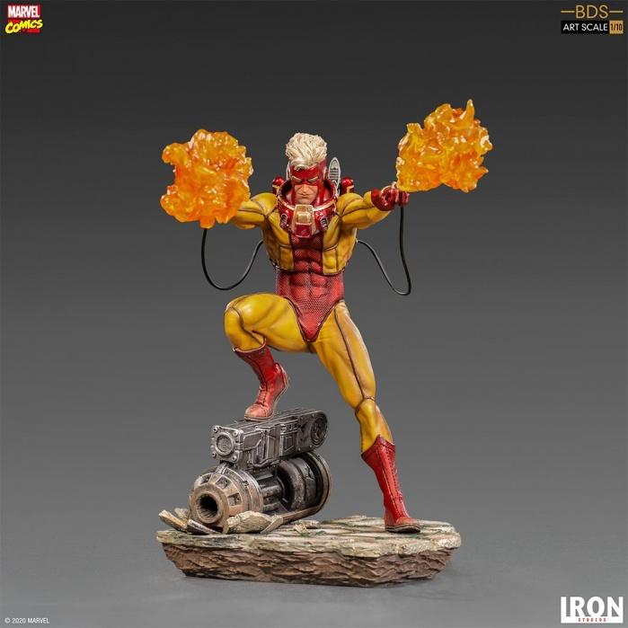 Marvel: X-Men - Pyro 1:10 Scale Statue Iron Studios Product