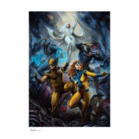 Marvel: X-Men - The House of X Unframed Art Print Sideshow Collectibles Product