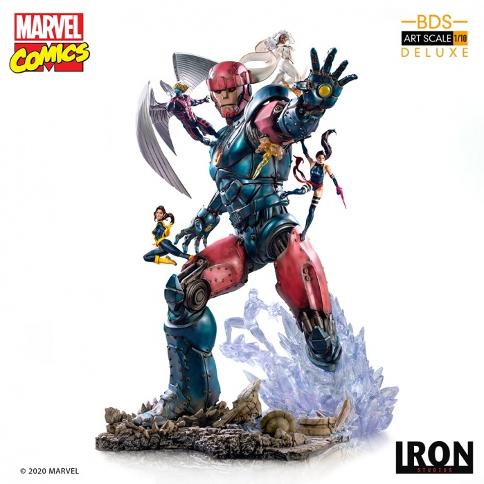 Marvel: X-Men vs Sentinel #3 1:10 Scale Statue Iron Studios Product