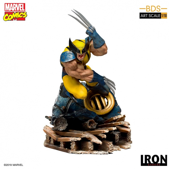 Marvel: X-Men - Wolverine 1:10 Scale Statue Iron Studios Product