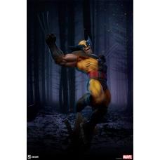 Marvel: X-Men - Wolverine Premium 1:4 Scale Statue | Sideshow Collectibles