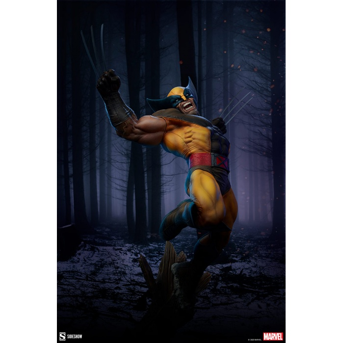 Marvel: X-Men - Wolverine Premium 1:4 Scale Statue Sideshow Collectibles Product