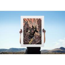 Marvel: X-Men - Wolverine Unframed Art Print - Sideshow Collectibles (NL)