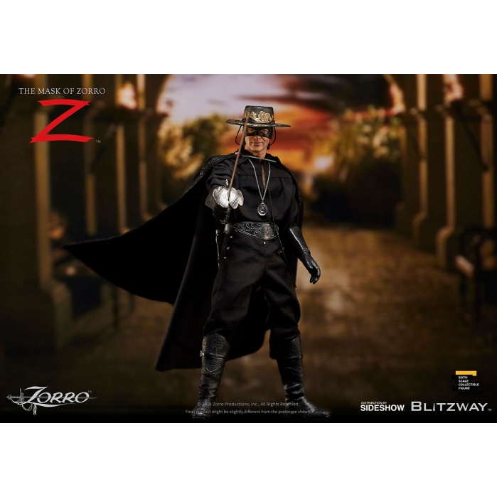 Mask of Zorro: Zorro 1:6 scale Figure Blitzway Product