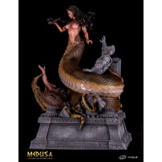 Medusa Victorious: The Anaconda Version 1:10 Scale Statue | SilverFox Creative Studios