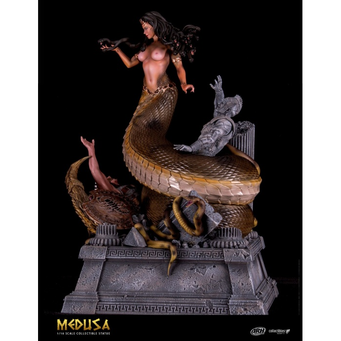 Medusa Victorious: The Anaconda Version 1:10 Scale Statue SilverFox Creative Studios Product