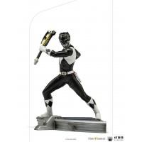 Mighty Morphin Power Rangers: Black Ranger 1:10 Scale Statue Iron Studios Product