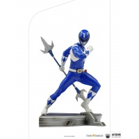 Mighty Morphin Power Rangers: Blue Ranger 1:10 Scale Statue Iron Studios Product