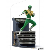Mighty Morphin Power Rangers: Green Ranger 1:10 Scale Statue Iron Studios Product