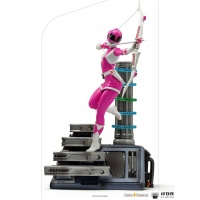 Mighty Morphin Power Rangers: Pink Ranger 1:10 Scale Statue Iron Studios Product