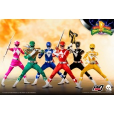 Mighty Morphin Power Rangers: Power Rangers 1:6 Scale Figures 6-Pack | threeA