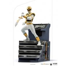Mighty Morphin Power Rangers: White Ranger 1:10 Scale Statue - Iron Studios (EU)