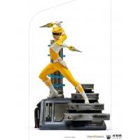 Mighty Morphin Power Rangers: Yellow Ranger 1:10 Scale Statue Iron Studios Product