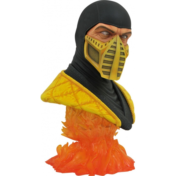 Mortal Kombat 11: Legends in 3D - Scorpion 1:2 Scale Bust Diamond Select Toys Product