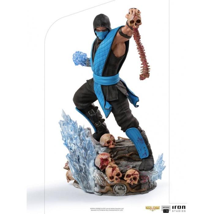 Mortal Kombat Art Scale Statue 1/10 Sub-Zero 23 cm Iron Studios Product