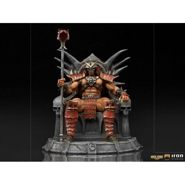 Mortal Kombat Deluxe BDS Art Scale Statue 1/10 Shao Khan 25 cm Iron Studios Product