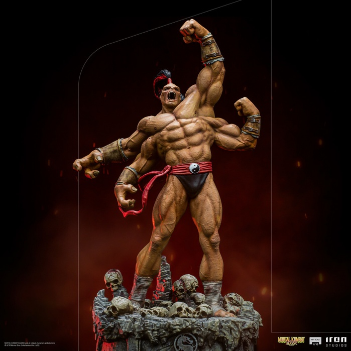Mortal Kombat: Goro 1:10 Scale Statue Iron Studios Product