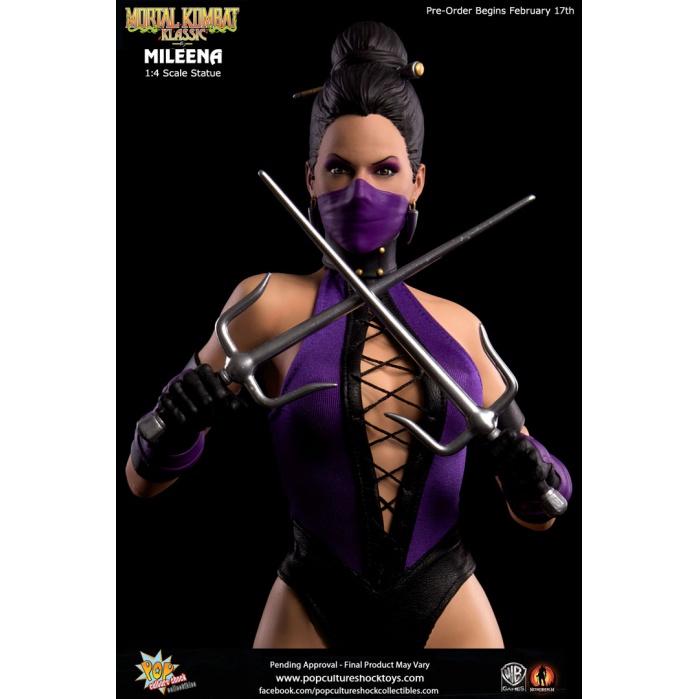 PCS Mortal Kombat X MILEENA 1:3 Scale Statue: NEW PHOTOS