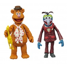 Muppets: Best of Series 1 - Gonzo and Fozzie Action Figure Set   Diamond Select Toys