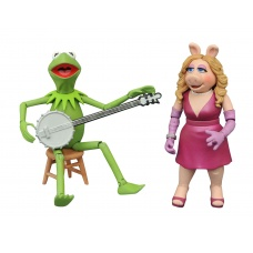 Muppets: Best of Series 1 - Kermit and Miss Piggy Action Figure Set | Diamond Select Toys