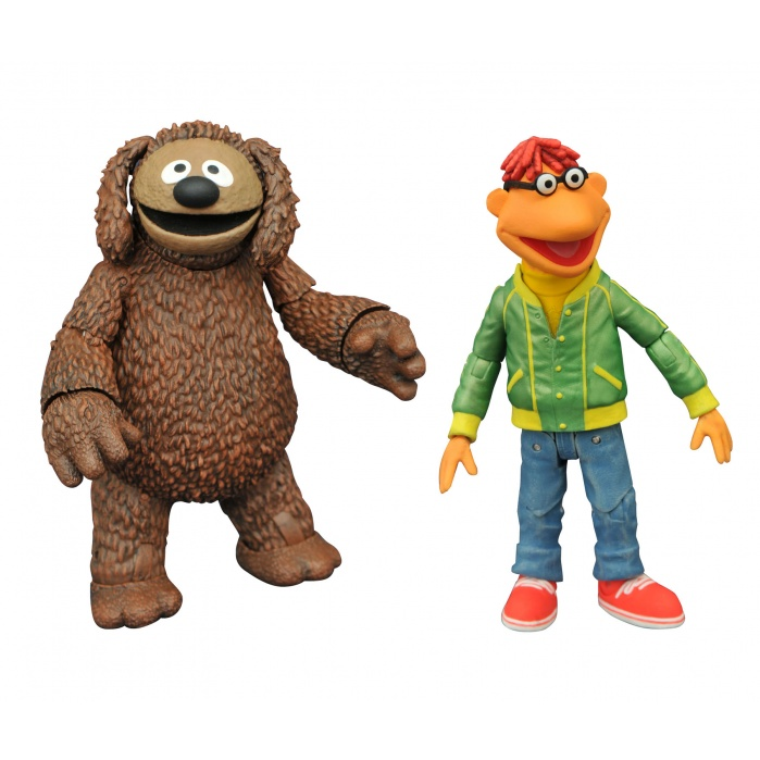 Muppets: Best of Series 1 - Scooter and Rowlf Action Figure Set Diamond Select Toys Product