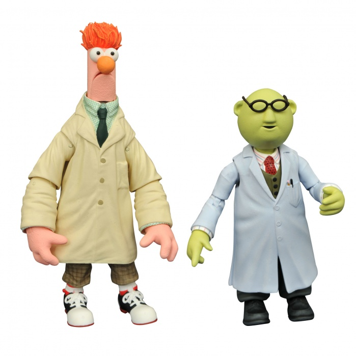 Muppets: Best of Series 2 - Bunsen and Beaker Action Figure Set Diamond Select Toys Product