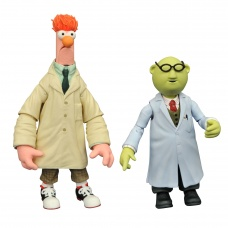 Muppets: Best of Series 2 - Bunsen and Beaker Action Figure Set   Diamond Select Toys