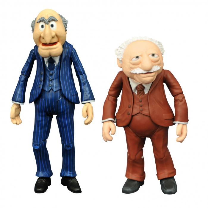 Muppets: Best of Series 2 - Statler and Waldorf Action Figure Set Diamond Select Toys Product