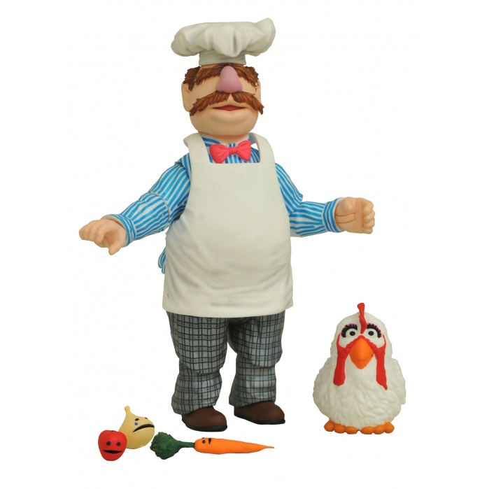 Muppets: Best of Series 2 - Swedish Chef Action Figure Diamond Select Toys Product